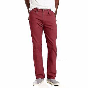 513 Slim Chocolate 50 Stretch 69 Uomo Jeans Nuovo Straight Truffle Levi's 38x32 5dwAqT5