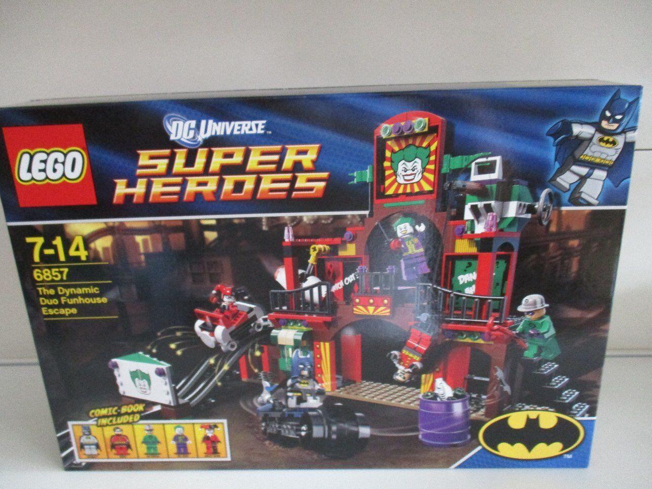 LEGO 6857 Super Heroes Batman The Dynamic Duo Funhouse Escape Nuovo OVP Sigillato