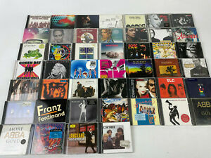 CD-Sammlung-Alben-46-Stueck-Rock-Pop-Hits-viele-bekannte-Namen-siehe-Bilder