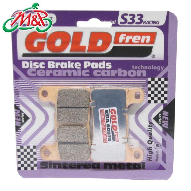 GSX-R 750 K4 K5 K6 K7 K8 K9 L/C EFI 2009 Front Goldfren S33 Disc Brake Pads