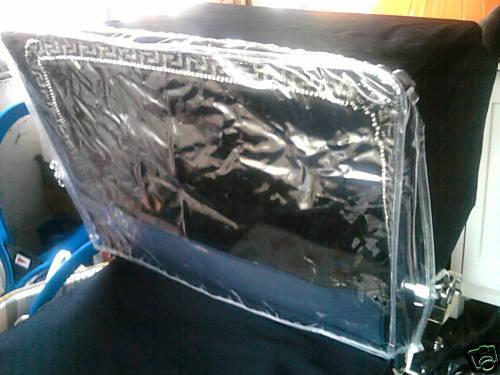 Cochecito Lluvia Viento Escudo-Plata Cruz Wilson Balmoral Coach construido Repuestos