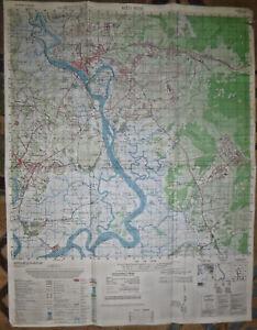 Guerra De Vietnam Mapa.Mapa 6330 I Bien Hoa Base Aerea Largo Post Gia Dinh Binh