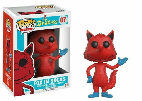 #07 Fox in the Socks POP Vinyl Figure~NIB Seuss *NEW* Funko Vaulted  Dr