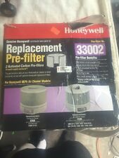 Honeywell Replacement Pre-filter 2 Carbon Pre-filters 33002 New Open Box