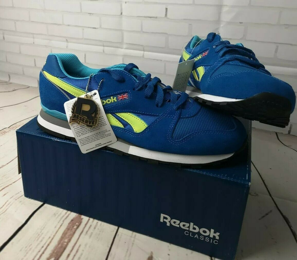 Reebok Classics phase 2 bluee trainers, retired design, new, unworn with tags