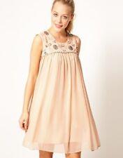 BNWT Warehouse Spotlight Hand Embellished Yoke Evening Occasion Dress 10 NEW