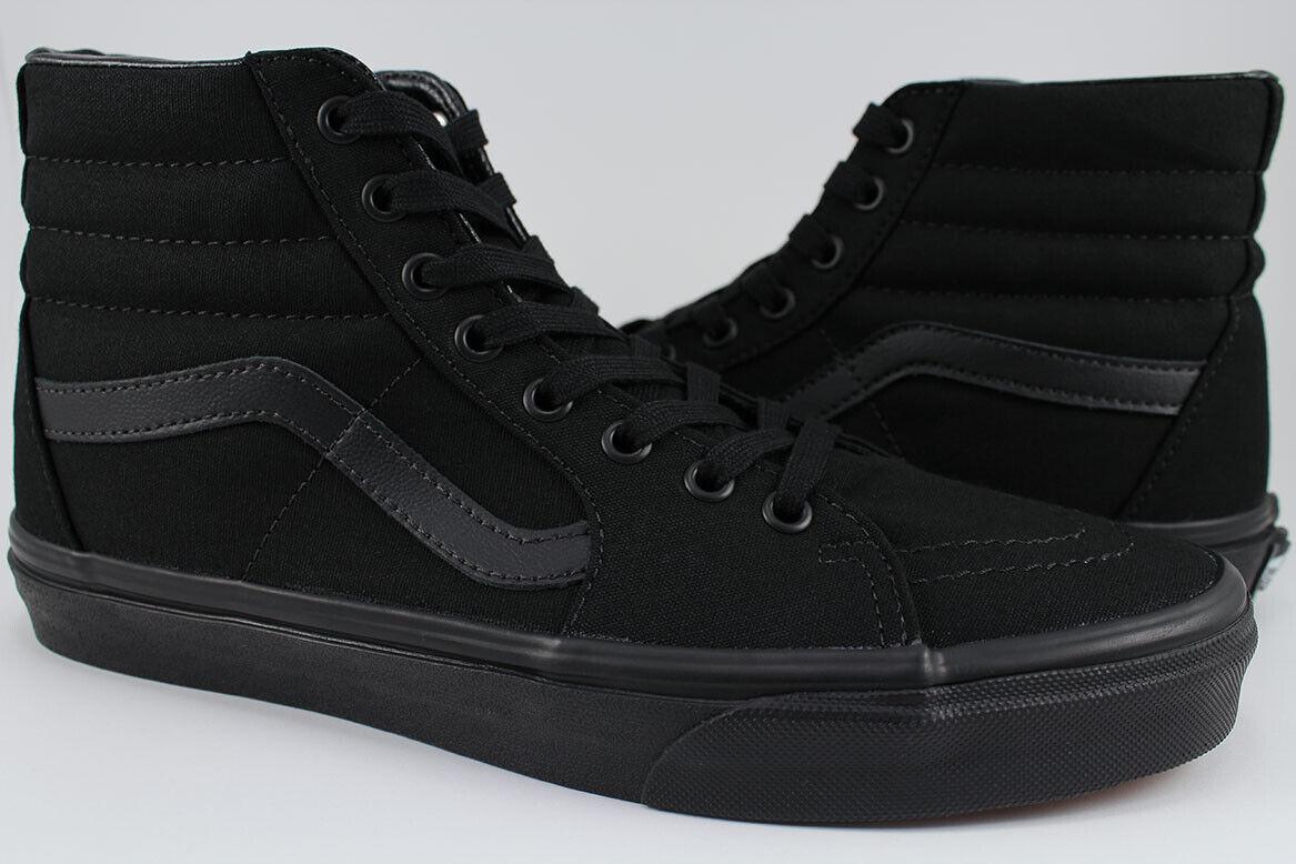 Vans Sk8-Hi - Black/Black/Black - All