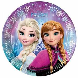 Image is loading the-Ice-Queen-8-Paper-Plates-Party-Tableware-  sc 1 st  eBay & the Ice Queen 8 Paper Plates Party Tableware Disney Fozen ...