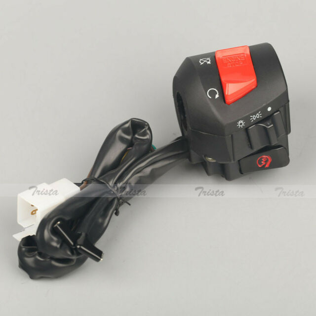 "Motorcycle ATV 7/8"" Handlebar On/Off Headlight Electrical Start Right Switch 12V"