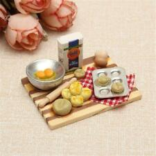 1 12 Scale Dollhouse Mini Kitchen Accessories Cooking Dish Furniture Kids Toy