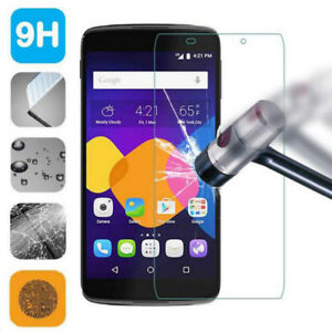 100-GENUINE-TEMPERED-GLASS-FILM-SCREEN-PROTECTOR-FOR-ALCATEL-VARIOUS-MODELS