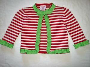 Mud Pie Girl Infant Christmas Cardigan