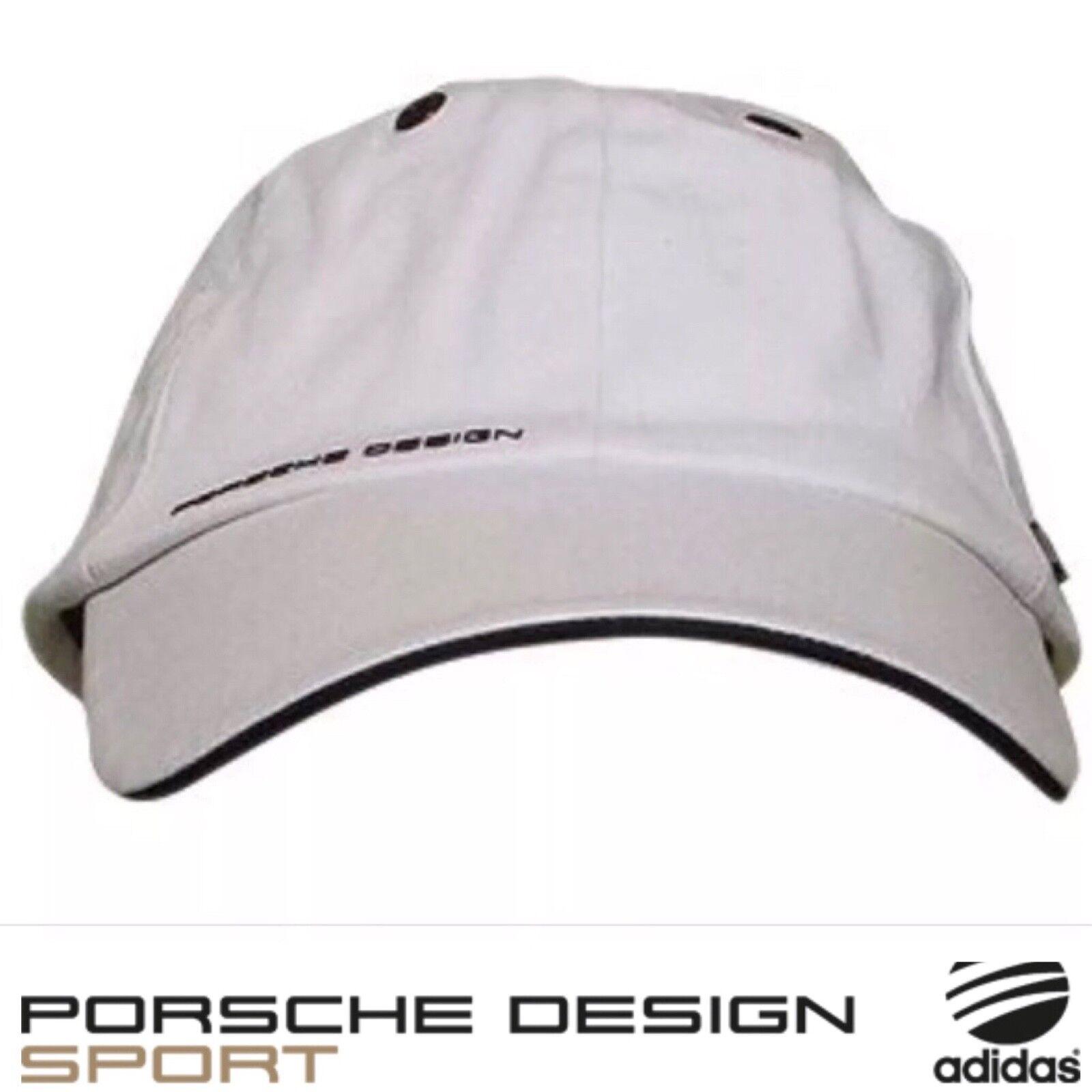 6e031261b2c Porsche Design Sport by adidas P 5000 Pro Stretch Cap Hat White Titanium  for sale online