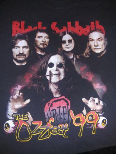 1999 Ozzfest Concert T-Shirt