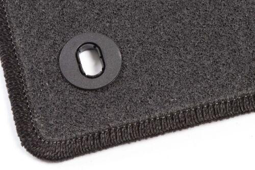 Graphit Textil Fußmatten 2006-2012  Anthrazit Ford S-Max 7-Sitzer Bj