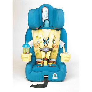 Kids Embrace Sponge Bob Car Seat