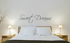 SWEET DREAMS Quote Art Vinyl Wall Sticker Decal Kid Nursery Home Decor Transfer
