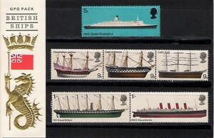 GB-1969-British-Ships-Presentation-Pack-5