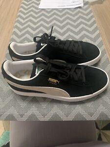 puma classic trainers white