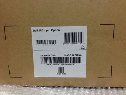 NEW GENUINE DELL 0GKDM9 550 INPUT OPTION TRAY FOR 5230 5350 N DN PRINTERS