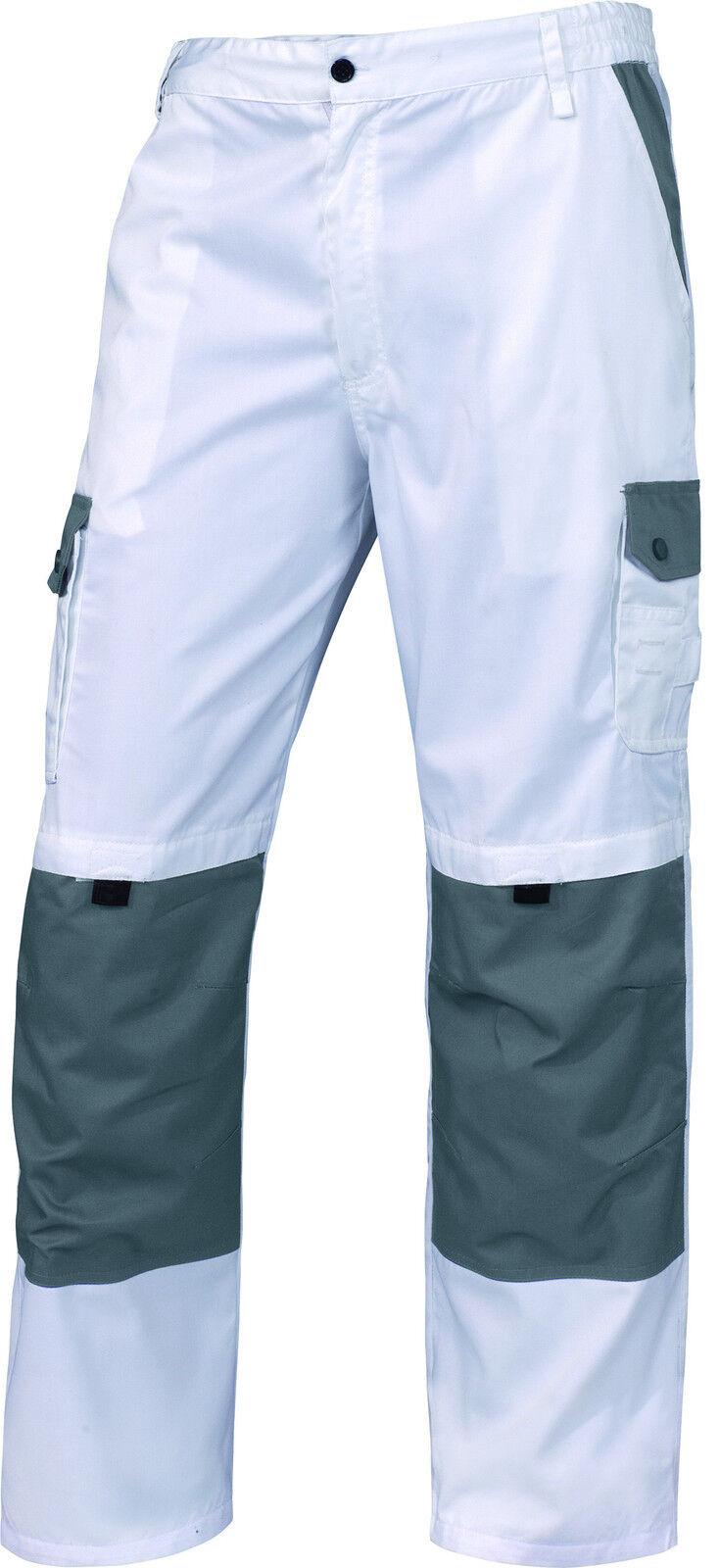 Delta Plus Panoply Latina whiteo Pantalones para Pintores Decoradores Trabajo