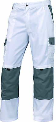 High Quality Tradesman Painters Decorators White Cotton Cargo Combat Work Shorts