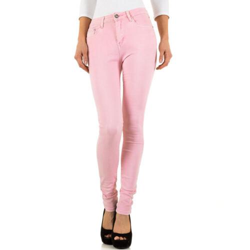 Damen Destroyed Cropped Skinny Jeans 0611 Ital-design