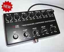 7band Sound Equalizer / Compressor / Echo Processor for ICOM 8 pin mic ham radio