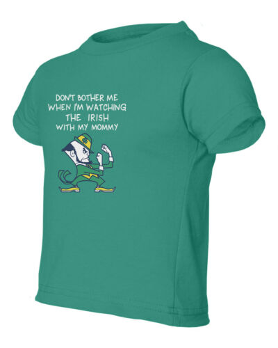 Notre Dame Watching With Mommy Kids Toddler T-Shirt