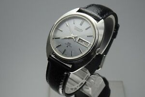 Vintage-1972-JAPAN-SEIKO-LORD-MATIC-WEEKDATER-5606-7151-23Jewels-Automatic
