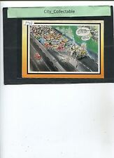 P726 # MALAYSIA USED PICTURE POST CARD * LATS' COMIC DRAWING .. LIVERPOOL