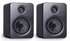 Roth OLi RA1 Bookshelf Speakers Matt Black (Pair)