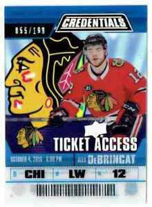 2019-20-CREDENTIALS-TICKET-ACCESS-ALEX-DEBRINCAT-CHICAGO-BLACKHAWKS-TA-AD