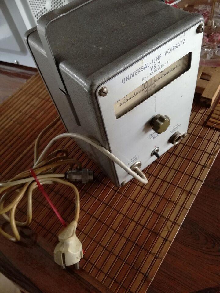 Frekvensomformer, GRUNDIG