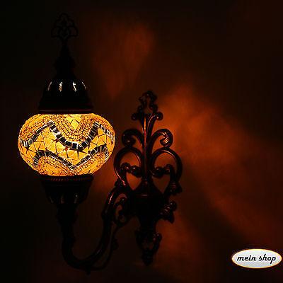 Wandleuchte Mosaik Wand Lampe Türkei Mosaiklampe Wandlampe Orientalische Lampe M