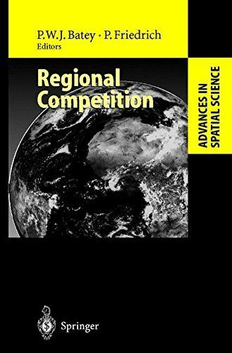 Regional Competition (Advances in Spatial Science), Unknown, Used; Very Good Boo