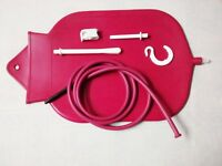 4 Qt. Premium Fountain Style Personal Douche And Enema System Bag Big Red Bag