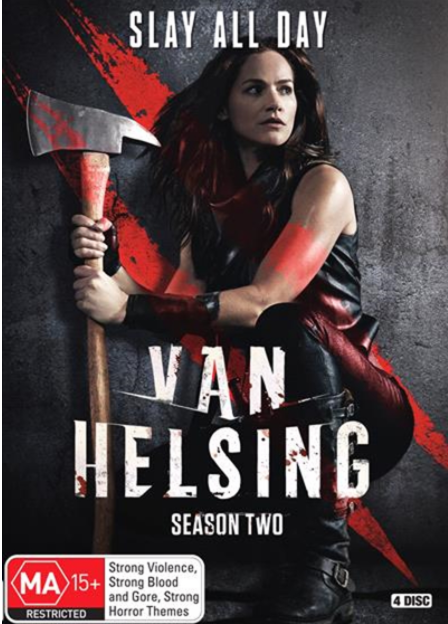 Van Helsing Season 2 (DVD, 4-Disc Set) NEW