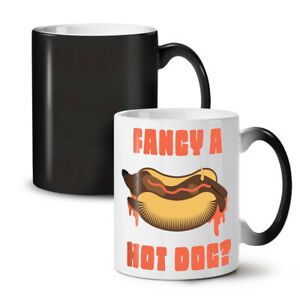 Fancy Hot Dog NEW Colour Changing Tea Coffee Mug 11 oz | Wellcoda