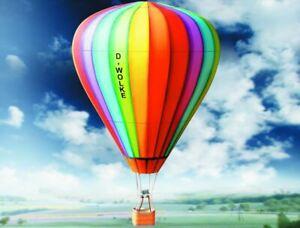 Kartonmodell-1-60-Heissluftballon-Bausatz-verwendbar-fuer-H0-bzw-Spur-0