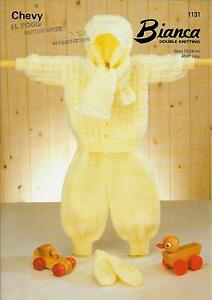 Vintage-Baby-Knitting-Pattern-DK-18-24-034-Hoodie-Trousers-Scarf-and-Mitts