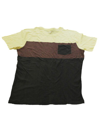 Herren T-Shirt Kurzarm Shirt bedruckt Top mit Muster Easy-1973