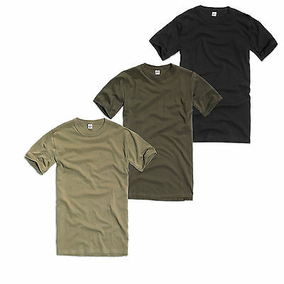 Brandit Base Layer T-Shirt Army 3 Colours Short Sleeve Vest Bw
