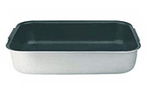 ROSTIERA Alluminio 3 mm 60 X40X10H Con 2 MANIGLIE Antiaderente Antiaderente Antiaderente Pentole Agnelli 33fe58