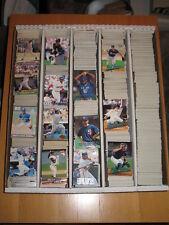 1992 ULTRA FLEER  Baseball Base & Inserts Large  Lot approximately 438 Cards
