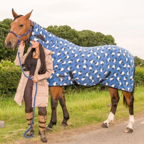 BOH Print Fleece Breathable Cooler Moisture Wicking Anti-Sweat Travel Show Rug
