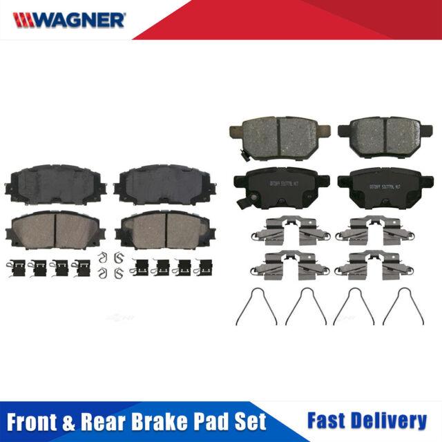Disc Brake Pad Set-ThermoQuiet Disc Brake Pad Front fits 14-19 Toyota Corolla