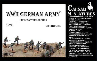 Caesar Miniatures H037 WWII German Army in 1:72