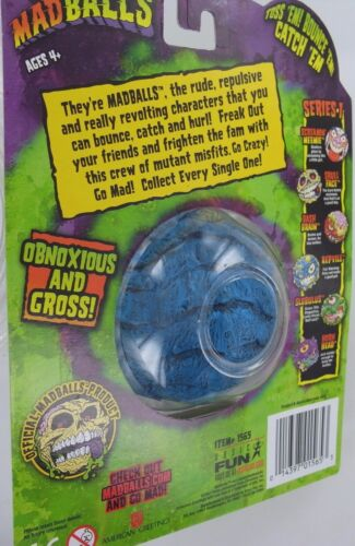 MadBalls repvile Mad Balls MadBall reptile jouet balle S1 basic fun Zombie Head NEW