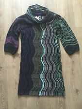 Missoni Luxurious Cowl Neck Ladies Dress Size M/12 RRP £485.00